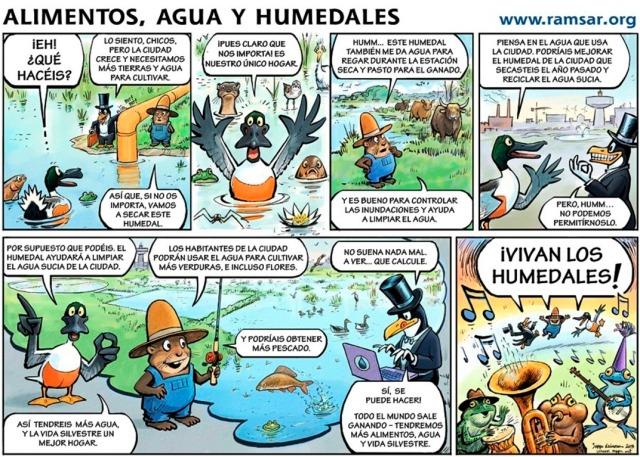 Día Mundial de los Humedales 2014: Humedales y Agricultura