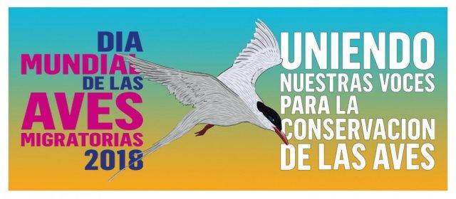 """Día Mundial de las Aves Migratorias 2018: """"Uniendo nuestras Voces para la Conservación de las Aves"""""""