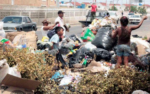 Posición de la Fundación Azul Ambientalistas frente al grave impacto ambiental por el desbordamiento y quema de basura en la ciudad de Maracaibero-Zulia-Venezuela