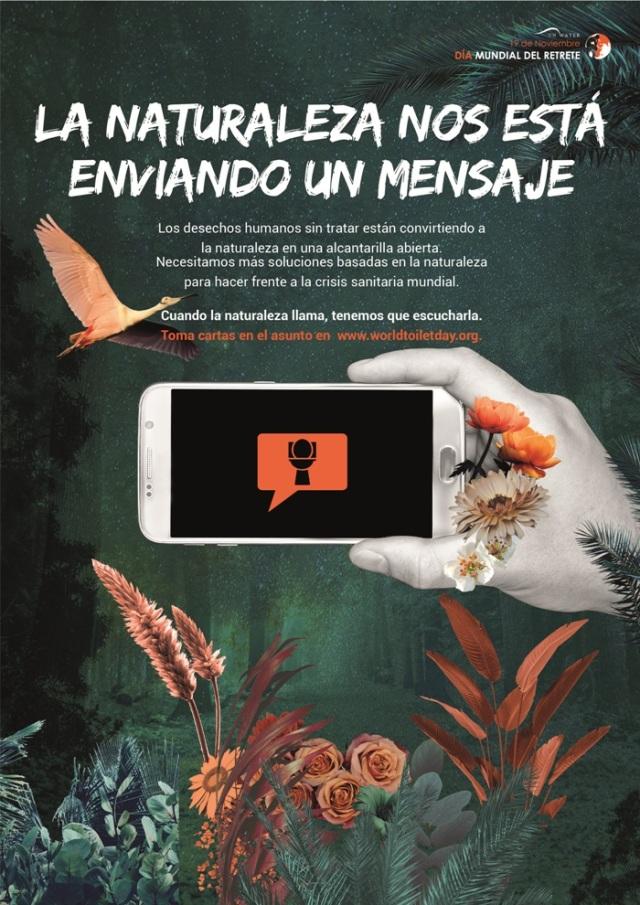 """Día Mundial del Retrete 2018: """"Cuando la Naturaleza Llama"""""""