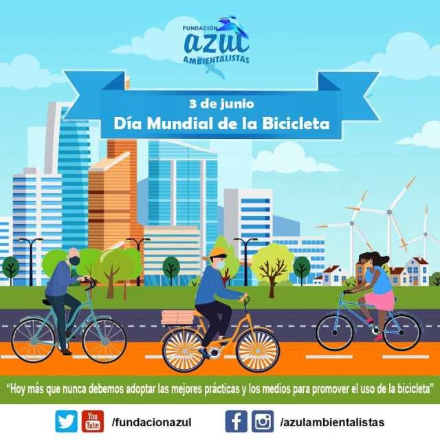 """03 de Junio: """"Día Mundial de la Bicileta"""""""